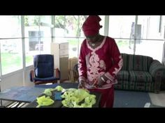 How to Recycle Plastic Bags into Purses: Isatou Ceesay - Njau, Gambia - YouTube