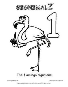 Signimalz (R) American Sign Language Count to Ten Coloring Book is a unique resource that depicts adorable cartoon animals signing the numbers 0-10 and provides immediate opportunity to practice one-one correspondence. This book can be used as a teaching resource for Deaf and Hard of Hearing students or as a learning tool for students learning to count.