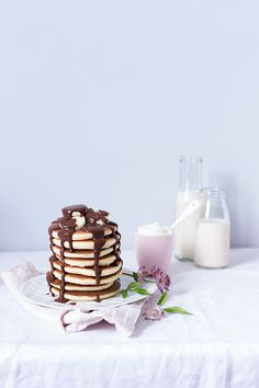Fluffy Pancakes | Carnets Parisiens, November 2014 [Original recipe in French]