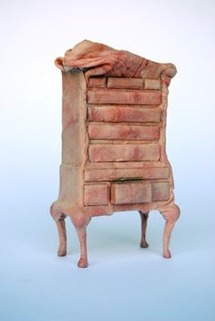 Flesh Covered Furniture Sculptures. Jessica Harrison Achieves This Effect By Making Casts With Skin From Her Own Body. It's Impressive How Realistic She Was Able To Put These Pieces Together, Especially With The Folds, Wrinkles And Hair That Is Typical Of Actual Human Skin.