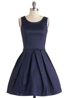 Meant to Bijou Dress in Navy