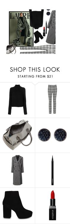 """Lauren Autumn 🍂"" by jbeb ❤ liked on Polyvore featuring Calvin Klein 205W39NYC, Off-White, London Fog, Ariella Collection, Tagliatore, MAC Cosmetics, ALDO and Smashbox"