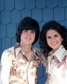 Donny and Marie Osmond....