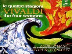 "Vivaldi, The Four Seasons ""Spring"" / Le Quattro Stagioni ""La Primavera"" (Ton Koopman & Andrew Manze)"