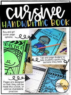 handwriting with this fun handwriting unit. There are over 120 pages of activities to help sharpen handwriting, including uppercase & lowercase practice, word writing, paragraph writing, and search and graph. Use the pages as stand alone worksheets, or turn them into a cursive handwriting book!