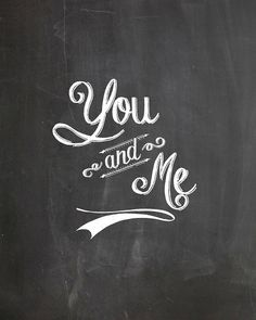 10 free download chalkboard fonts and free prints for valentines