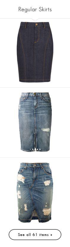 """Regular Skirts"" by kortlynwells ❤ liked on Polyvore featuring apostolic, pentecostal, skirts, burberry, denim, burberry skirt, stretch denim skirt, pencil skirt, stretch denim pencil skirt and blue"