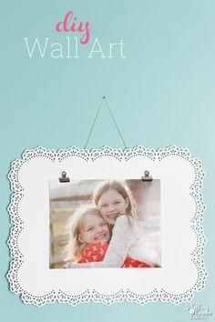 Simple Photo Frame DIY Wall Art