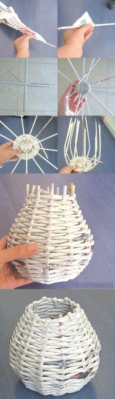 Small Basket #basket #craft