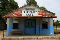 Mississippi blues clubs- The Blue Front Cafe, Bentonia, MS