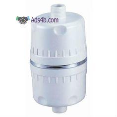 Filtro para chuveiro especial anti-cloro, para pele e cabelos saudáveis. A instalar na misturadora da banheira/duche. Este filtro especial para chuveiro vai reduzir o cloro utilizado no trat...