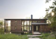 La Résidence Massawippi de la designer Stéphanie Cardinal - Un exemple de construction verte - Joli Joli Design