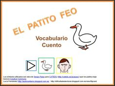 Php, Videos, Vocabulary, Ugly Duckling, Speech Language Therapy, Short Stories, Activities, Video Clip