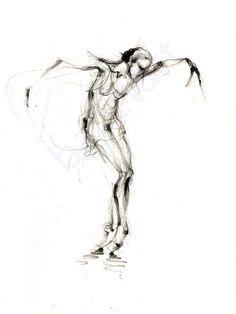 Sylvie, Art print, Ballet art, dance art, wall art, pencil, figure drawing, black and white art, sketch, interior design, dance gifts