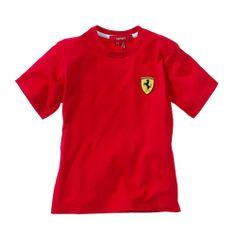 Ferrari Scuderia baby T-shirt #ferrari #ferraristore #tshirt #kids #baby #cavallinorampante #prancinghorse #red #rossoferrari