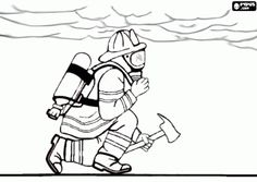 Fire Department Badge Coloring Page fire safty Pinterest