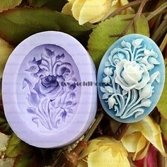 Rose Flexible Silicone Mold Silicone Mould Candy Mold Chocolate Mold Soap Mold Polymer Clay Mold Resin Mold F0197 by MoldHouse on Etsy https://www.etsy.com/listing/157515456/rose-flexible-silicone-mold-silicone