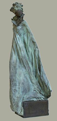 Sculptures Céramiques, Small Sculptures, Sculpture Clay, Abstract Sculpture, Ceramic Angels, Ceramic Figures, Encaustic Art, Pottery Designs, Black Women Art