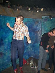 dancing skinhead