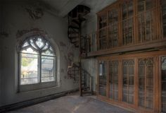 Photograph taken at abandoned church, 2010 by Matthew Christopher of Abandoned America.