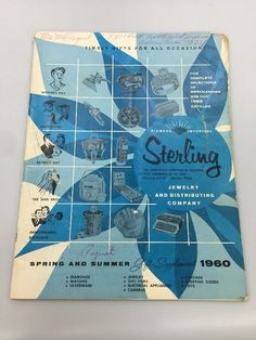 Vintage Diamond Importers Sterling Jewelry Catalog Brochure 1960 Gifts Toys
