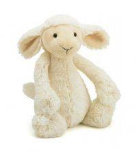 Jelly Cat Bashful Soft Toy Lamb Baby