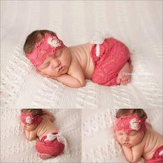 NEW Laurel Newborn girl bonnet and skirt set by thetreetopshoppe