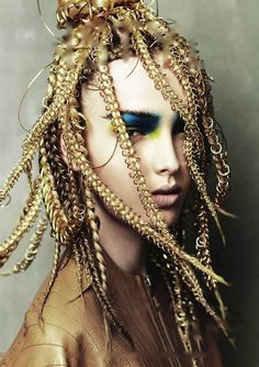 Instyle Magazine : Instyle Education Supplement Page 001 Creative Hairstyles, Up Hairstyles, Hair Art, My Hair, Angelo Seminara, Avant Garde Hair, Foto Fashion, Editorial Hair, Hair Creations