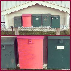 Rød fresh postkasse😏👌 Mailbox, Outdoor Decor, Home Decor, Mail Drop Box, Decoration Home, Room Decor, Mail Boxes, Home Interior Design, Home Decoration