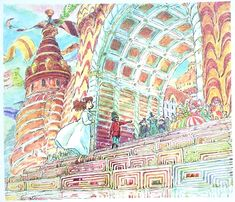 ○紫の豚日記○ 【宮崎駿のファンタジー回帰】三鷹の森ジブリ美術館企画展示「クルミわり人形とネズミの王さま展~メルヘンのたからもの~」