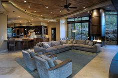 Meier Residence - contemporary - Living Room - Phoenix - Process Design Build, L.L.C.