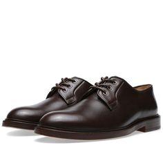half off 85a40 1fe07 A.P.C. Varenne Derby Shoe (Dark Brown)