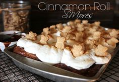 ~Cinnamon Roll S'mores!