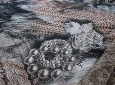 Sjaal Athene bont