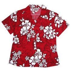 seastar hawaiian lady blouse