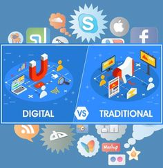 Traditional market communication means the communication which reaches the limited or local audience, whereas the online market communication means a business that invest in building Internet Marketing, Online Marketing, Digital Marketing, Traditional Market, Marketing Communications, Building A Website, Investing, Branding, Social Media