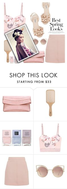 """""""Untitled #204"""" by jade-714 ❤ liked on Polyvore featuring Philip Kingsley, Nails Inc., STELLA McCARTNEY, Topshop, MANGO, Behance, Miu Miu and H&M"""