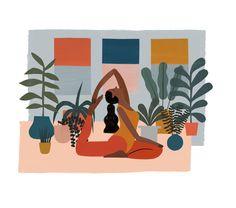 - Yoga poses for beginners - Art And Illustration, Illustrations, Yoga Poses For Two, Yoga Poses For Beginners, Yoga Inspiration, Yoga Meditation, Yoga Flow, Yin Yoga, Yoga Kunst