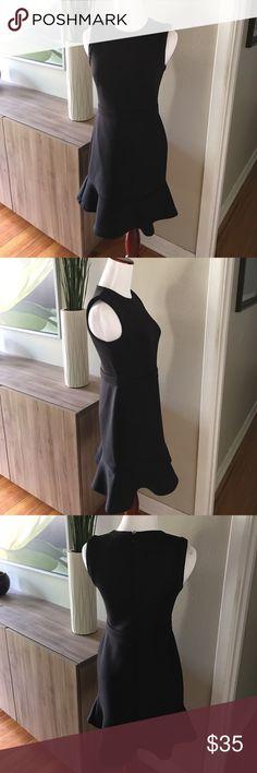 Ann Taylor Loft petite size 0 black dress Ann Taylor Loft petite size 0 black dress. LOFT Dresses Mini