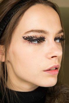 Fendi fall 2015: Makeup #fashionwomancom