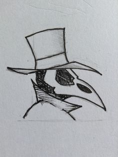 Plague Doctor clothing logo. My design for my clothing brand