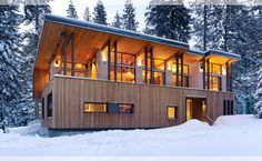 1000 images about modern chalet on pinterest chalets chalet interior and ski chalet - Chalet moderne ...