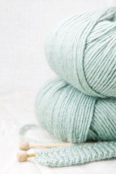Robin's Egg Blue Yarn