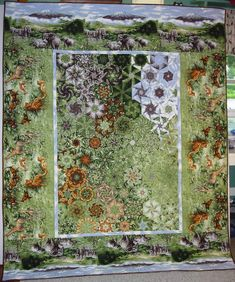 One Block Wonder Fabric Choices One Block Wonder, Fox Quilt, Fabric Panel Quilts, Millefiori Quilts, Kaleidoscope Quilt, Two Color Quilts, Green Quilt, Hexagon Quilt, Quilting Designs