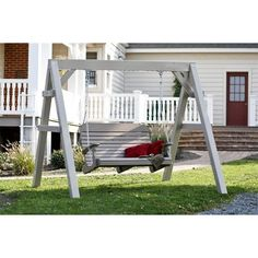 Porch Swing Model With Its Curved Seat And Contoured Back The Easy Is A Relaxing Experience Not Only Does This Come In Extra Wide