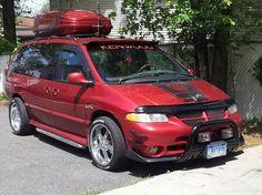 . Chrysler Voyager, Chrysler Grand Caravan, Chrysler Town And Country, Chevy Van, Custom Wheels, Custom Vans, Big Trucks, Cars And Motorcycles, Dodge