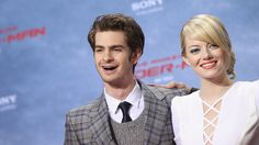 Emma Stone and Andrew Garfield - adorable