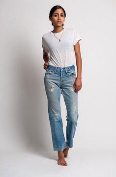 The Levi's Distressed Back 501xx Jeans – WAIST 26 | Denim Refinery