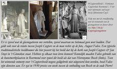 August Falise en de mal van zijn beeld van Jeroen Bosch tussen de glasnegatieven van @Cuypershuis. Herkomst Cuypershuis. | Tekst  en collage bvhh.nu 2017. | by Bern4dette