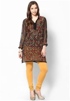 Self Design Women's Chikan Kurti List price: Rs999   Rs699 You save: Rs300 (30%)  Specifications GENERAL DETAILS PatternSelf Design Ideal ForWomen's OccasionCasual